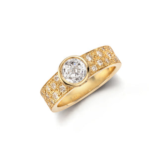 grace diamond wedding ring