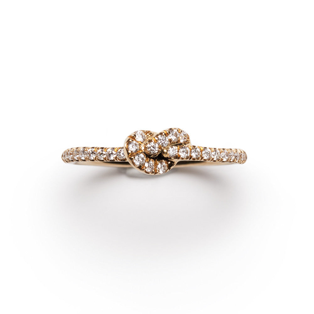 knot diamond rings itm to baguette brilliant gold love bypass round enlarge engagement ring click thumbnails