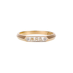 The Mrs. Signet Ring