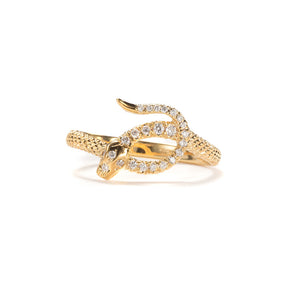 Pavé Serpent Ring