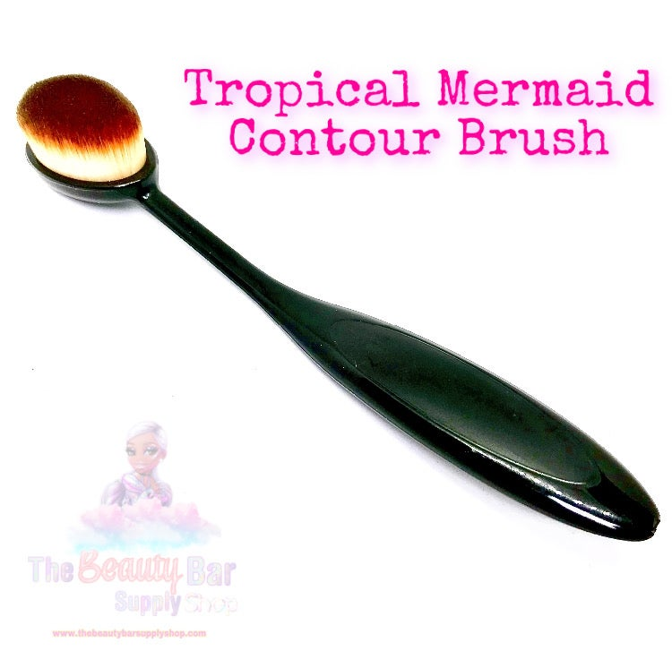 Tropical Mermaid Contour Brush
