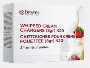 Browne Whipped Cream Charger Box of 24