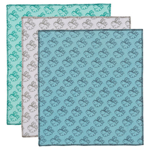 Now Designs Dust Bunny Flannel Dusting Cloths 3pk