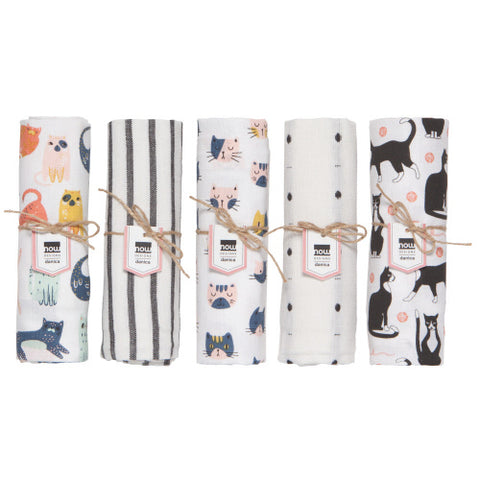 Now Designs Pick A Pattern Tea Towel