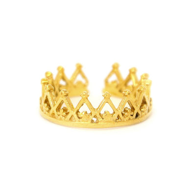 Anillo Corona Princess Gold