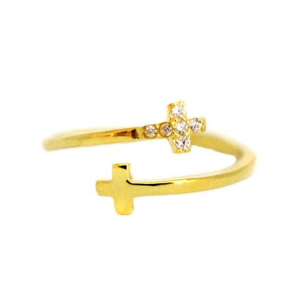 Anillo Cross Ajustable