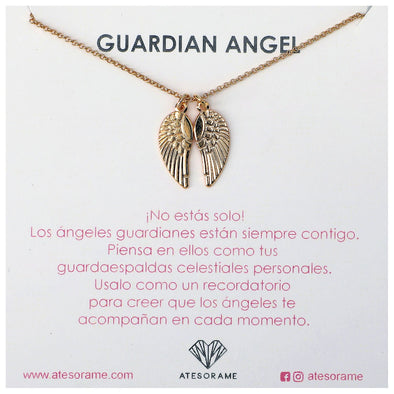 Collar Angel Guardian Goldfilled