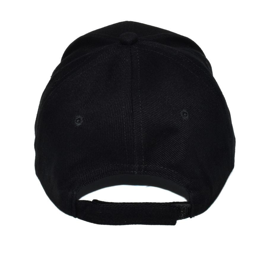 Explorer Cotton Cap Back Black