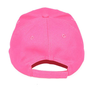 Explorer Cotton Cap Back Hot Pink
