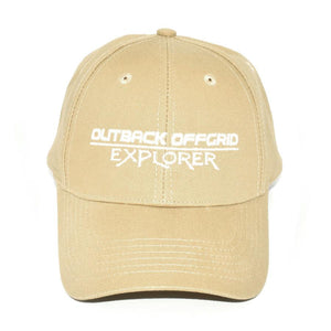 Explorer Cotton Cap Front Dark Khaki
