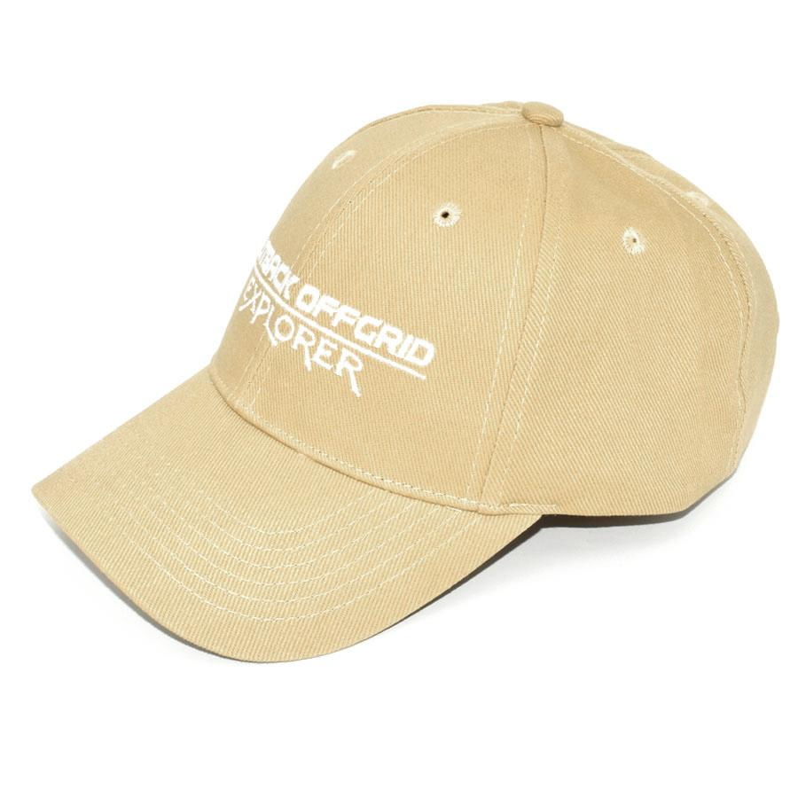 Explorer Cotton Cap Left Side Dark Khaki