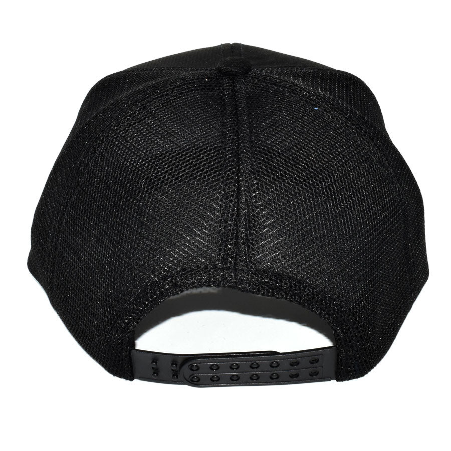 Explorer Flat Peak Cap Back Black