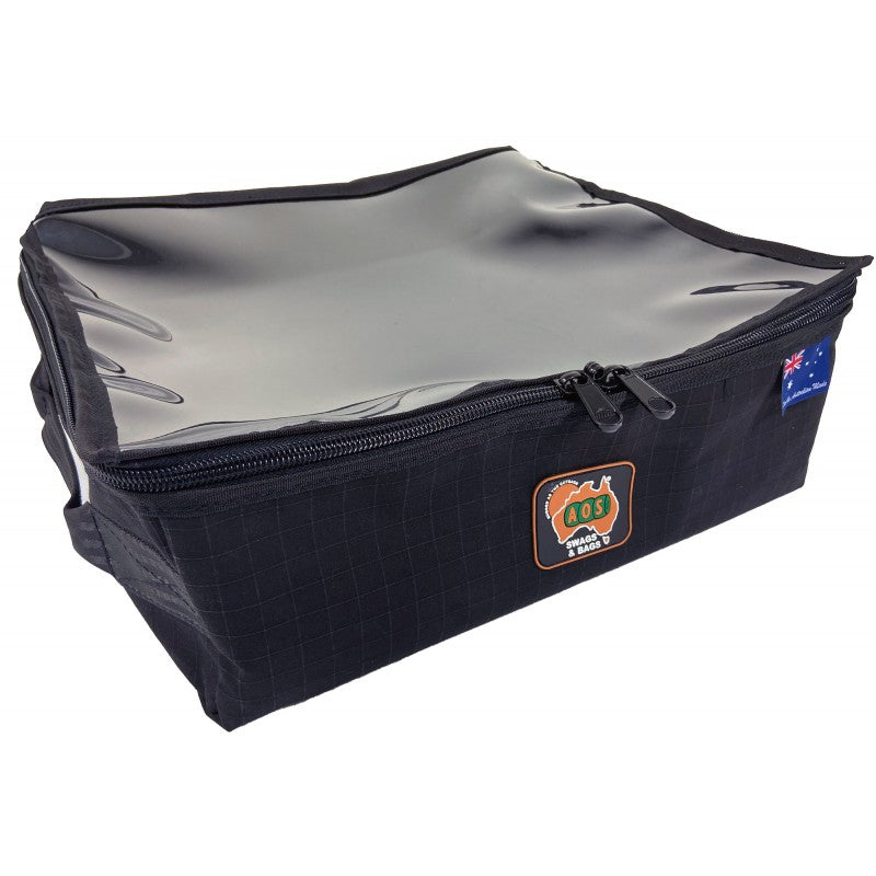 Black Heavy Duty Clear Top Storage Bag