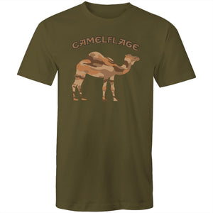 Men's Army Green Camelflage Shirt