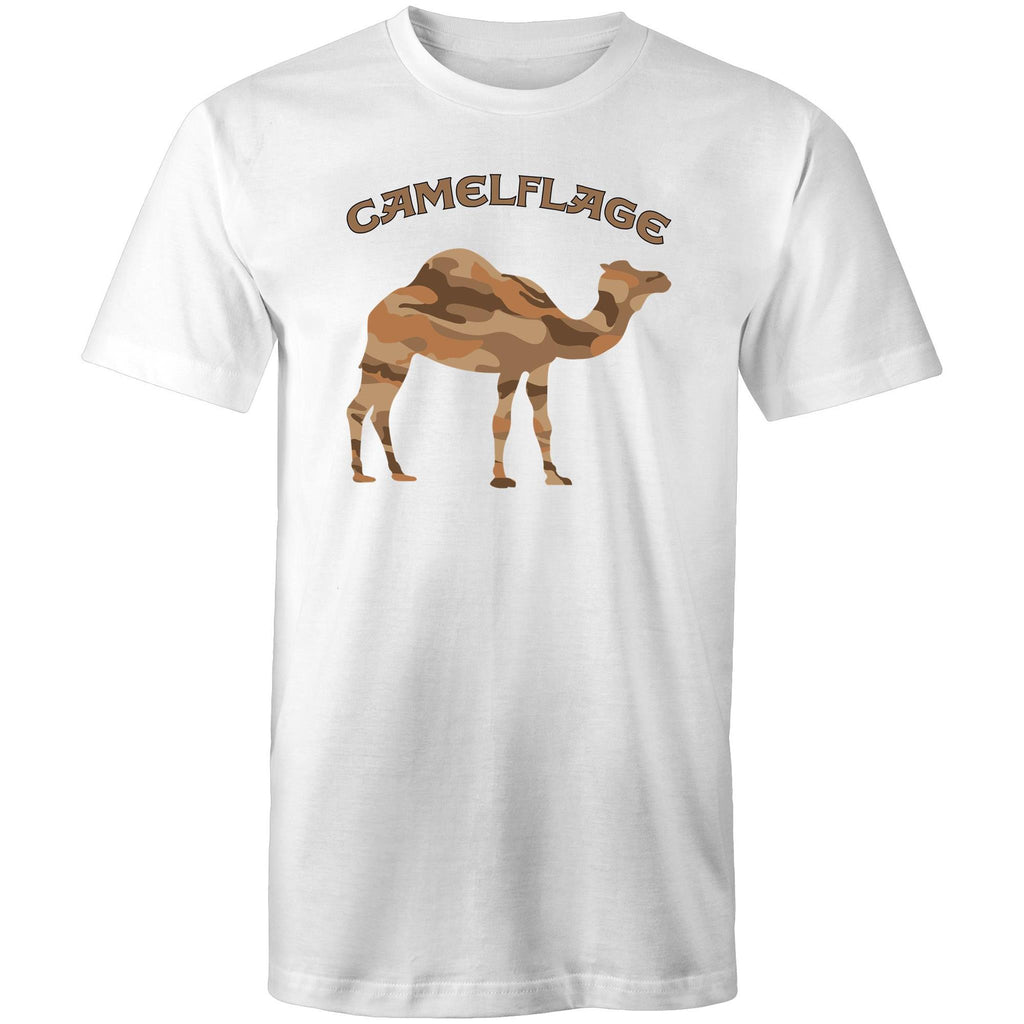 Men's White Camelflage Shirt