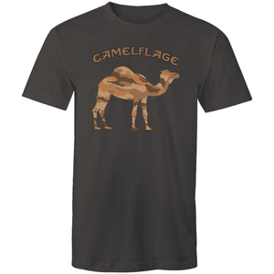 Men's Charcoal Camelflage Shirt