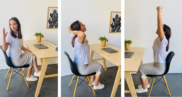 5 Simple desk stretches for Work from home rest
