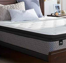 "Load image into Gallery viewer, DF SEALY POSTUREPEDIC, QUEEN Size ""Recommended Sleep,"" 13"" Pillowtop Plush Mattress and Foundation. Luxury Medium/Firm Mattress Set, and Always FREE Delivery and Set-Up."