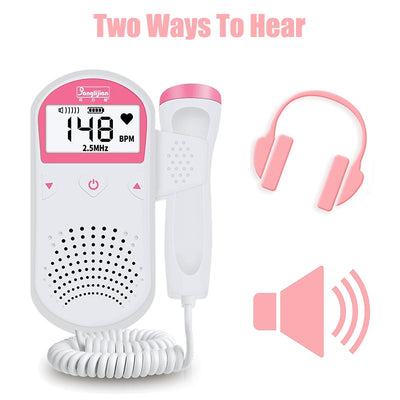 Expecting mom Doppler - Baby's Heart Rate Detector