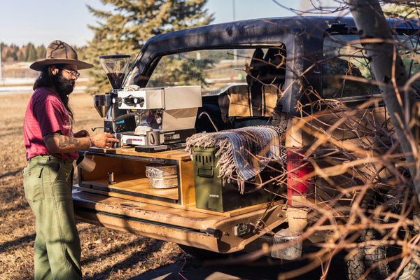 Mobile Espresso and Specialty Coffee 1985 Ford Bronco