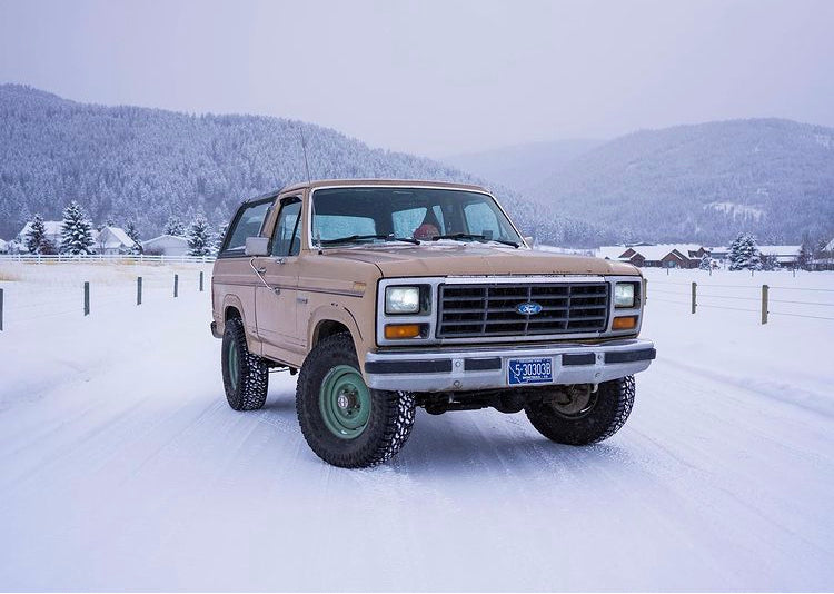 1985 Ford Bronco Classic Truck