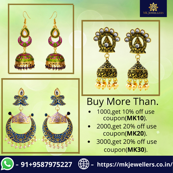 Meenakari Jewellery - The Ethnic Beauty of Indian Jewels