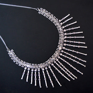 Oxidized German Silver Necklace For Women And Girls