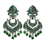 Exclusive Traditional Meenakari Bali Earrings For Women And Girls
