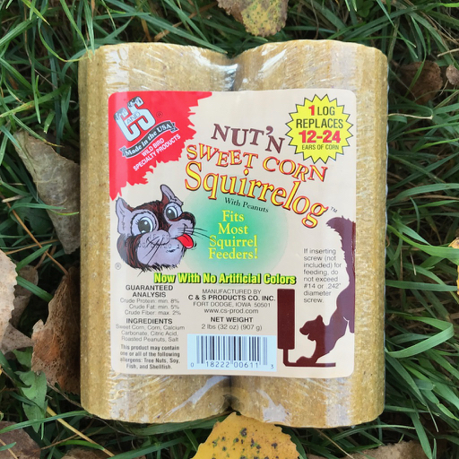 C&S Nut'n Sweet Corn Squirrelog