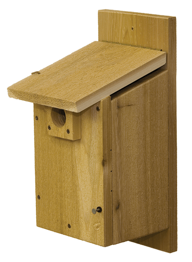 Stovall Products Western/Mountain Bluebird House Rustic