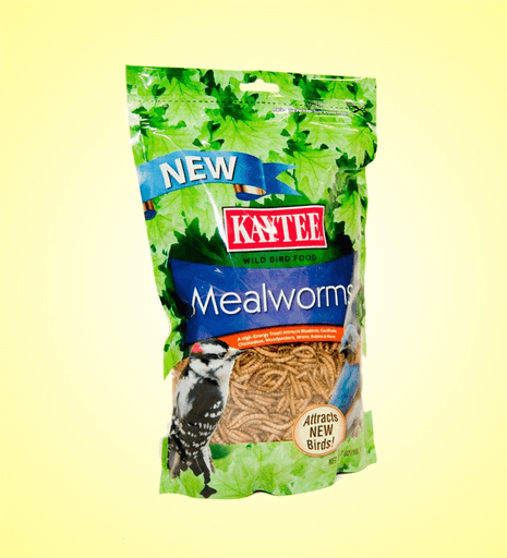Kaytee 7oz Dried Mealworms