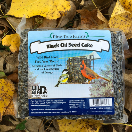 Pine Tree Farms 1.75lb Black Oil Seed Cake