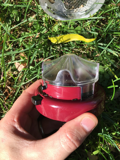 Aspects Quick Clean Medium Nyjer Mesh Feeder Berry