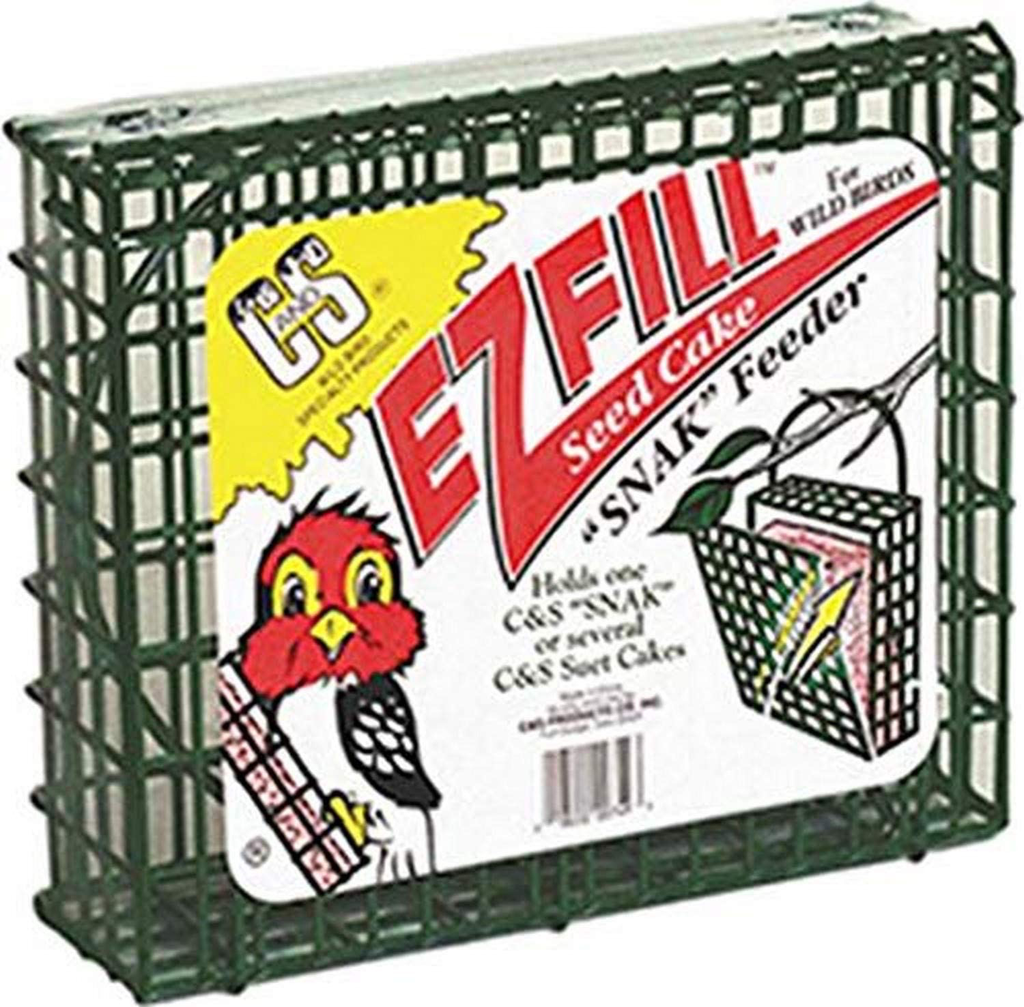 C&S EZ-Fill Large Suet Cake/Snak Feeder