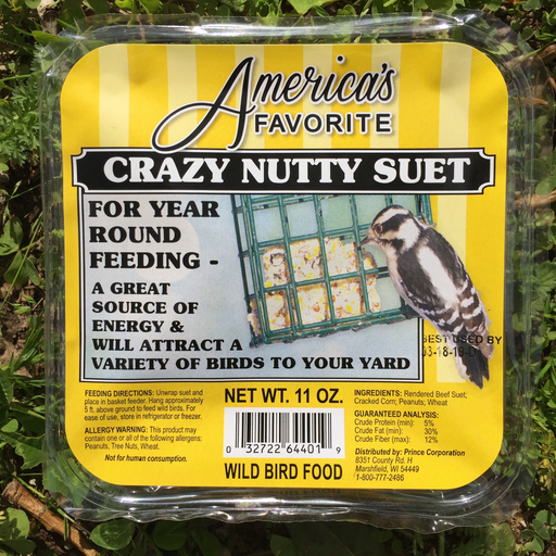America's Favorite 11oz Crazy Nutty Suet Cake