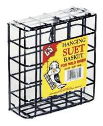 C&S Single Cake Hanging suet Basket