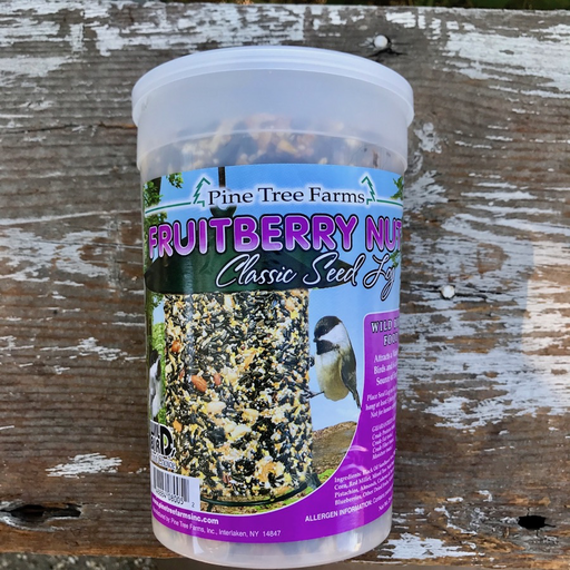 Pine Tree Farms 28oz Fruit Berry Nut Classic Seed Log