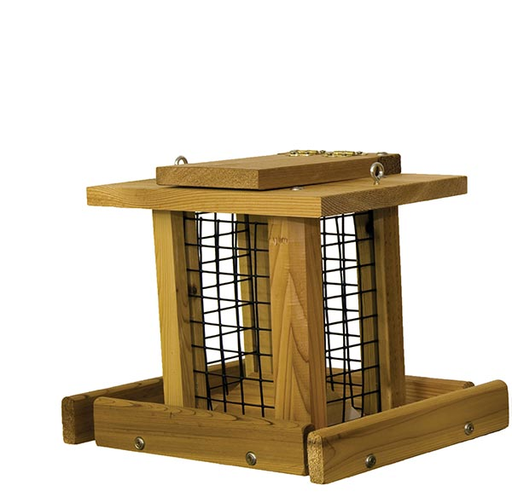 Stovall Products Small Blue Jay Whole Peanut Feeder
