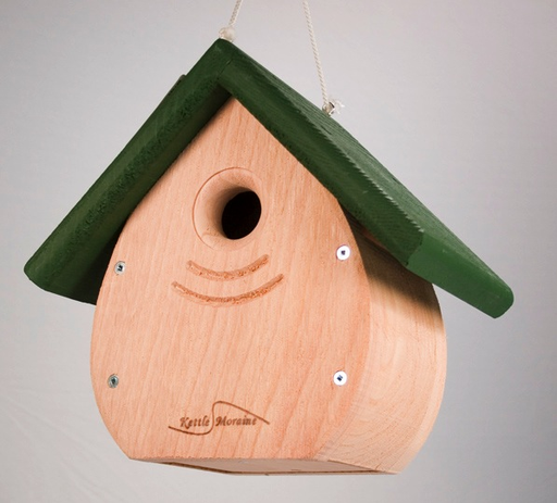 Kettle Moraine Tear Drop Nestbox - Green