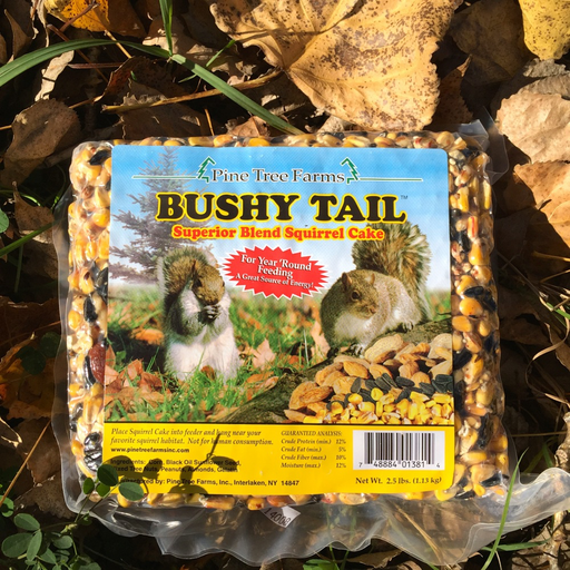 Pine Tree Farms 2.5lb Bushy Tail Squirrel Cake