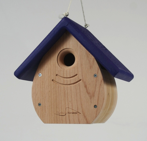 Kettle Moraine Tear Drop Nestbox - Purple