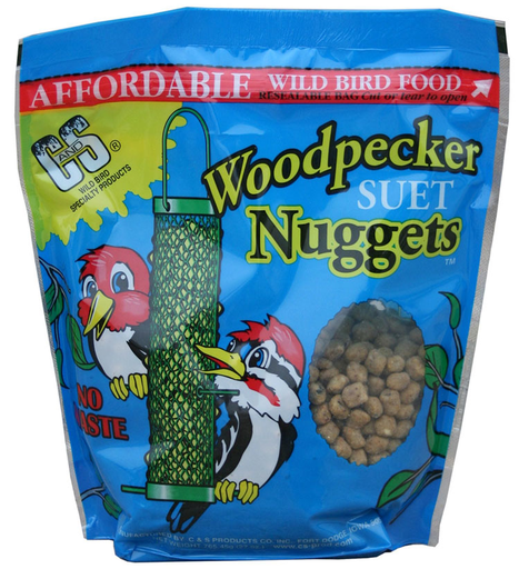 C&S Woodpecker Suet Nuggets 27 oz.