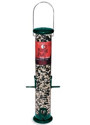 "Droll Yankees 15"" Ring Pull Feeder (Forest Green)"