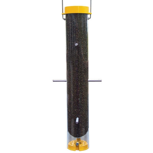 "Droll Yankee 16"" Bottoms Up Finch Feeder"