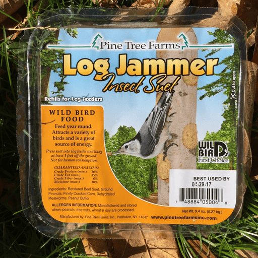 Pine Tree Farms Log Jammer Insect Suet Plugs 9.4oz