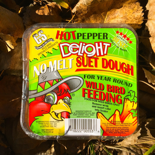 C&S Hot Pepper Delight Suet Cake