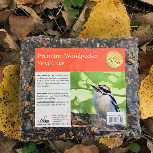 Heath Premium 2lb Woodpecker Seed Cake