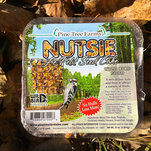 Pine Tree Farms Le Petit 10 oz. Nutsie Seed Cake