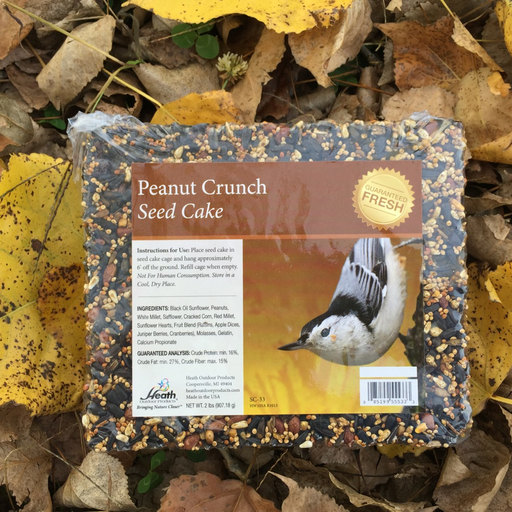 Heath 2lb Peanut Crunch Seed Cake