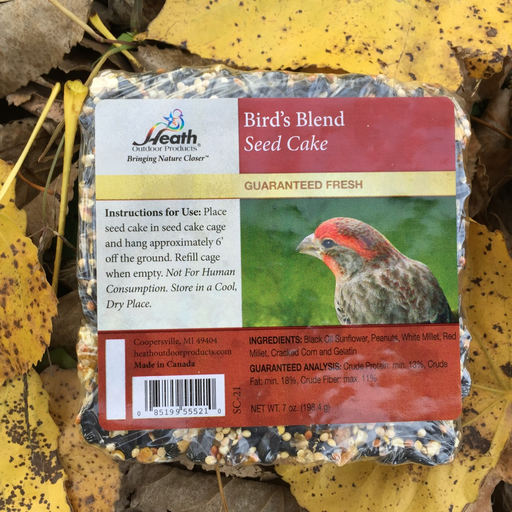 Heath Small Bird's Blend Seed Cake